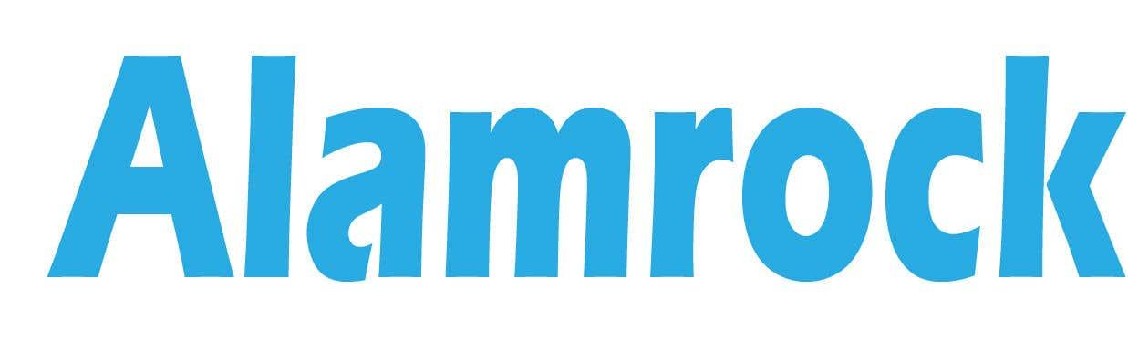 """Intrarea #                                        124                                      pentru concursul """"                                        Logo for my business - Alamrock                                     """""""
