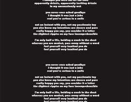 #54 для Songwriter Rap Text от affanfa