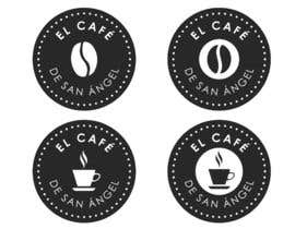 "#65 untuk I need a logo for a new coffee brand. The name of the brand is ""El Café de San Ángel"". oleh Niloypal"