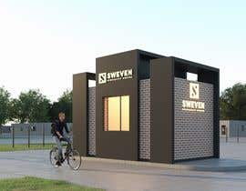 #98 para Design 3d drive-thru coffeeshop por ShayanArtech