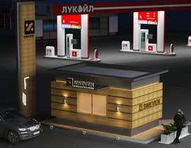 #63 para Design 3d drive-thru coffeeshop por FaroDesign