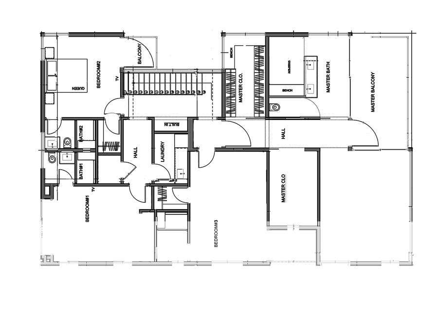 Contest Entry #                                        6                                      for                                         Redraw two floor plans - first of many projects.
