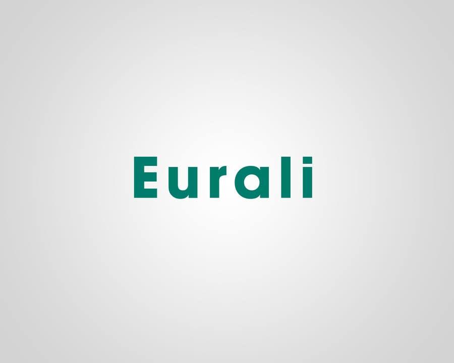 Contest Entry #                                        34                                      for                                         Design a Logo for a brand called EURALI