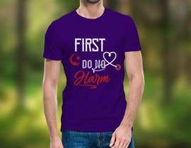 #98 for Muslim T Shirt Design for Doctors by Designer560