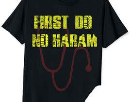 #95 for Muslim T Shirt Design for Doctors by mdn277343
