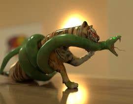 Nro 20 kilpailuun Tiger fight käyttäjältä TaseerID