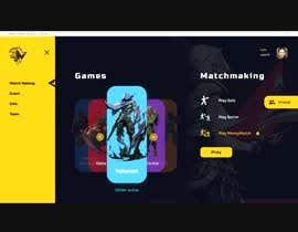 #19 cho Design a Gaming network platform GUI/Dashboard bởi kuyabalap
