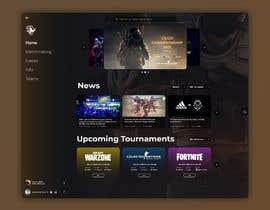#14 cho Design a Gaming network platform GUI/Dashboard bởi alejandrom13