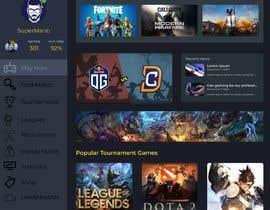 #7 cho Design a Gaming network platform GUI/Dashboard bởi ricsiecruz