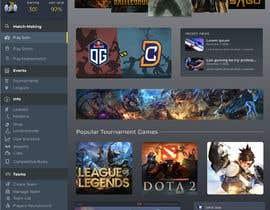 #10 cho Design a Gaming network platform GUI/Dashboard bởi ricsiecruz