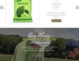 #34 untuk Home page for online bio organic shop oleh EmonDev
