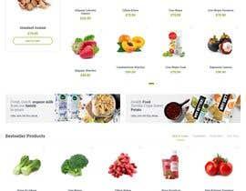 #36 untuk Home page for online bio organic shop oleh EmonDev