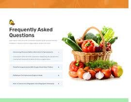 #38 untuk Home page for online bio organic shop oleh EmonDev