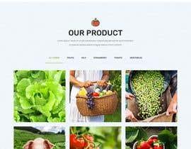 #40 untuk Home page for online bio organic shop oleh EmonDev