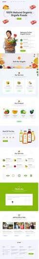 Imej kecil Penyertaan Peraduan #                                                41                                              untuk                                                 Home page for online bio organic shop