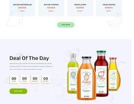 #41 untuk Home page for online bio organic shop oleh EmonDev