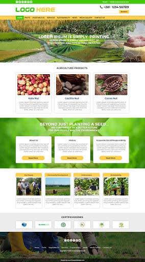 Penyertaan Peraduan #                                        24                                      untuk                                         Home page for online bio organic shop