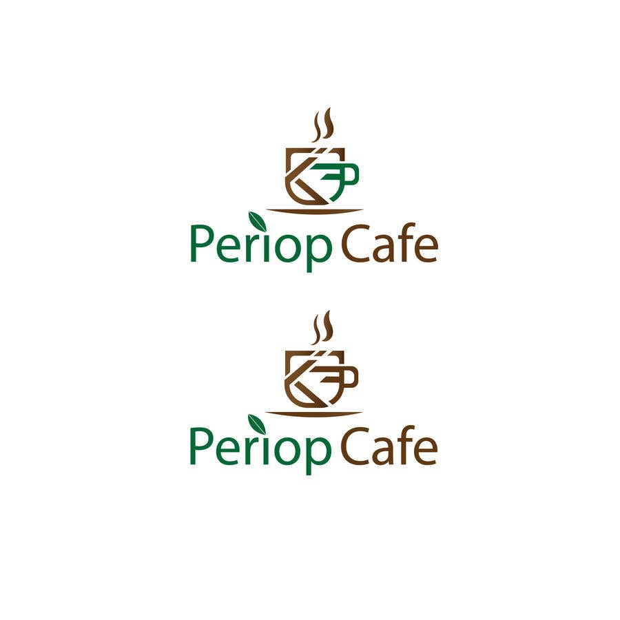 Конкурсная заявка №                                        1291                                      для                                         Periop Cafe logo design