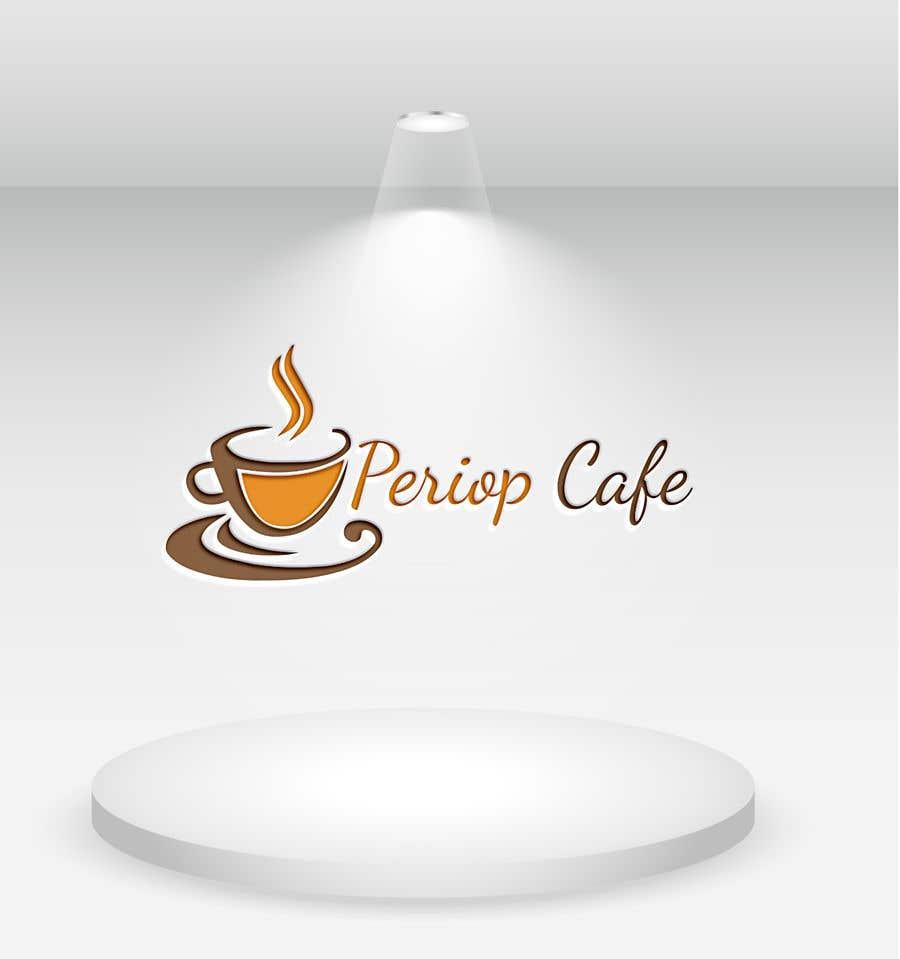 Конкурсная заявка №                                        1060                                      для                                         Periop Cafe logo design