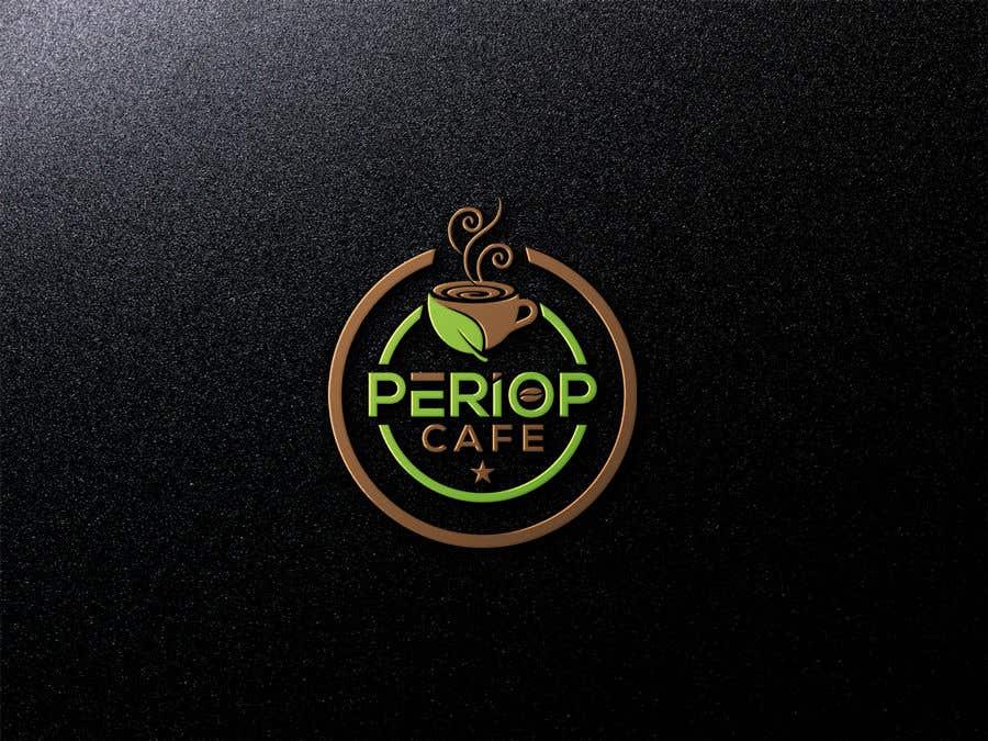 Конкурсная заявка №                                        1463                                      для                                         Periop Cafe logo design