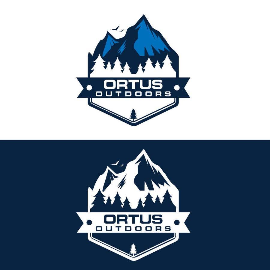 Kilpailutyö #                                        384                                      kilpailussa                                         Ortus Outdoors Logo