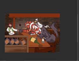 Nro 24 kilpailuun i need a drawing of my favorite characters together käyttäjältä RashidRidha97