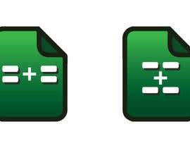 #15 for Graphic icon for Google Sheets extension: 2 static, 1 GIF by gavinbrand