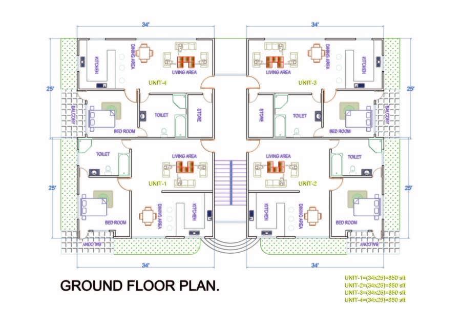 Proposition n°                                        52                                      du concours                                         Condominium Building Design