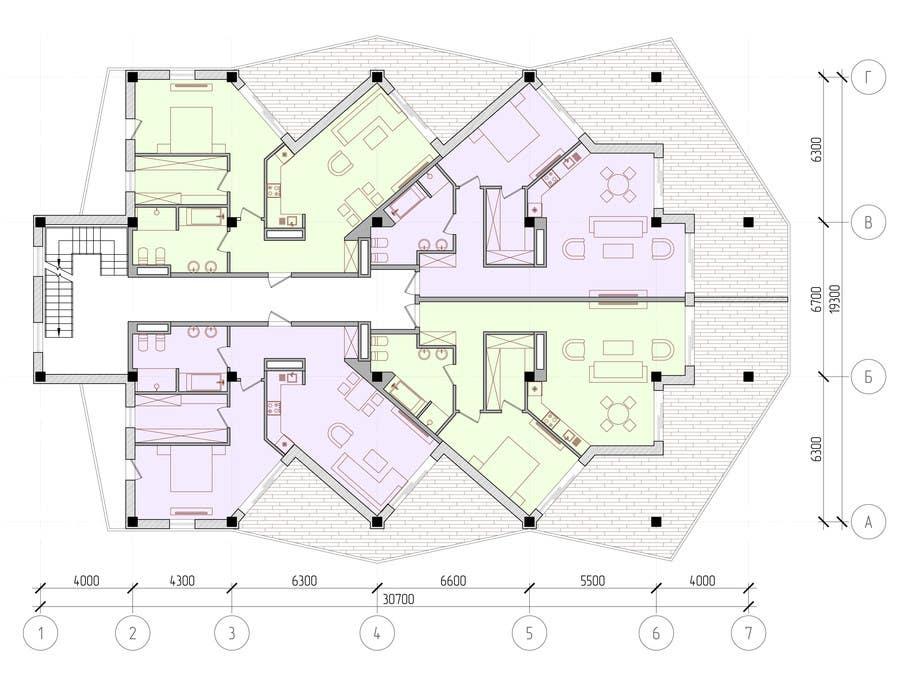 Proposition n°                                        79                                      du concours                                         Condominium Building Design