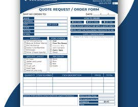 #31 for Redesign a PDF Order Form by azizulbeceee01