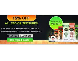 #52 for Sale Banner for Eden's Herbals 15% Off Tinctures by dgrmehedihasan