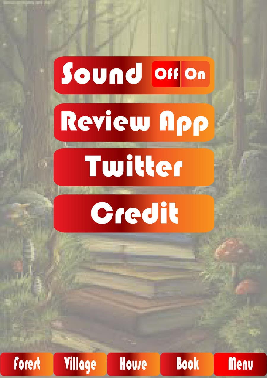 Contest Entry #                                        16                                      for                                         Forest Theme GameUI Design ( Only one screen )