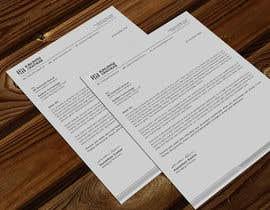 Nro 153 kilpailuun A4 letterhead design käyttäjältä atikchowdhury55