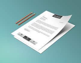 Nro 163 kilpailuun A4 letterhead design käyttäjältä sabbir12hossain1