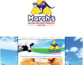 #107 cho New Logo Design Marsh's Cheese bởi munmun87