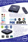 """Graphic Design Contest Entry #6 for Design a simple 4"""" x 6"""" Flyer for Android TV Boxes"""