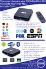 """Graphic Design Contest Entry #7 for Design a simple 4"""" x 6"""" Flyer for Android TV Boxes"""
