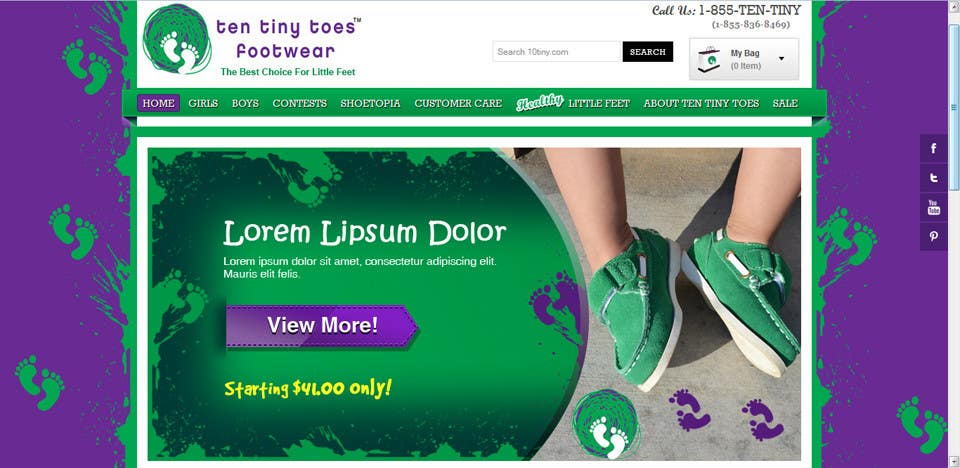 #2 for Banner Design for Website Slider by CreativeDezigner