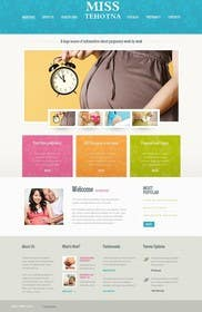 #6 for complet templates wordpress vote miss pregnant by Nihadricci