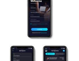 #36 for Design 4 mobile app screens by marumanit
