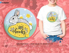 Nro 62 kilpailuun The store name: Little cheeks. It's a store for kids (selling clothing and accessories for kids) I would like to a have a logo with bright colors, kids illustrations with store name) käyttäjältä ngagspah21