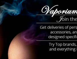 #6 for Design 350 x 100 Banner for Vape E-Cig Juice website af DariaLion