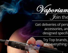 #9 for Design 350 x 100 Banner for Vape E-Cig Juice website af DariaLion