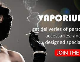 #13 for Design 350 x 100 Banner for Vape E-Cig Juice website af amitjangid0808