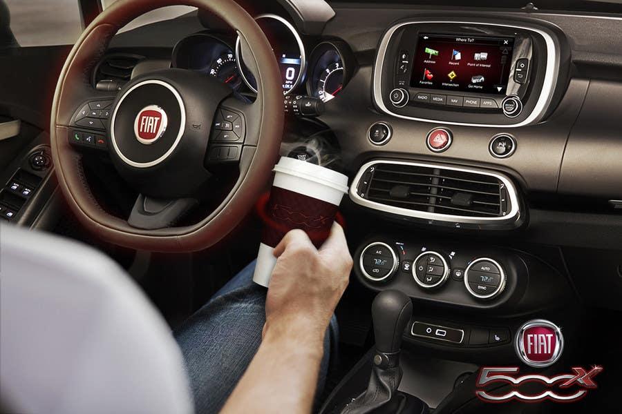 Inscrição nº 5 do Concurso para Design an Advertisement for Fiat 500x heated steering wheel