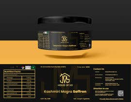 #4 for Brand design for the product container/package - Saffron Threads by whoDanyalahmed
