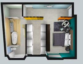 #25 for Design my bedroom by bettsyferreira