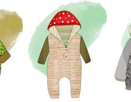 Nro 106 kilpailuun Concept design of baby products(0-12month) käyttäjältä Anajal