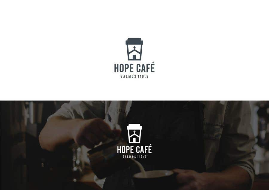 Proposition n°                                        64                                      du concours                                         LOGO / HOPE CAFE