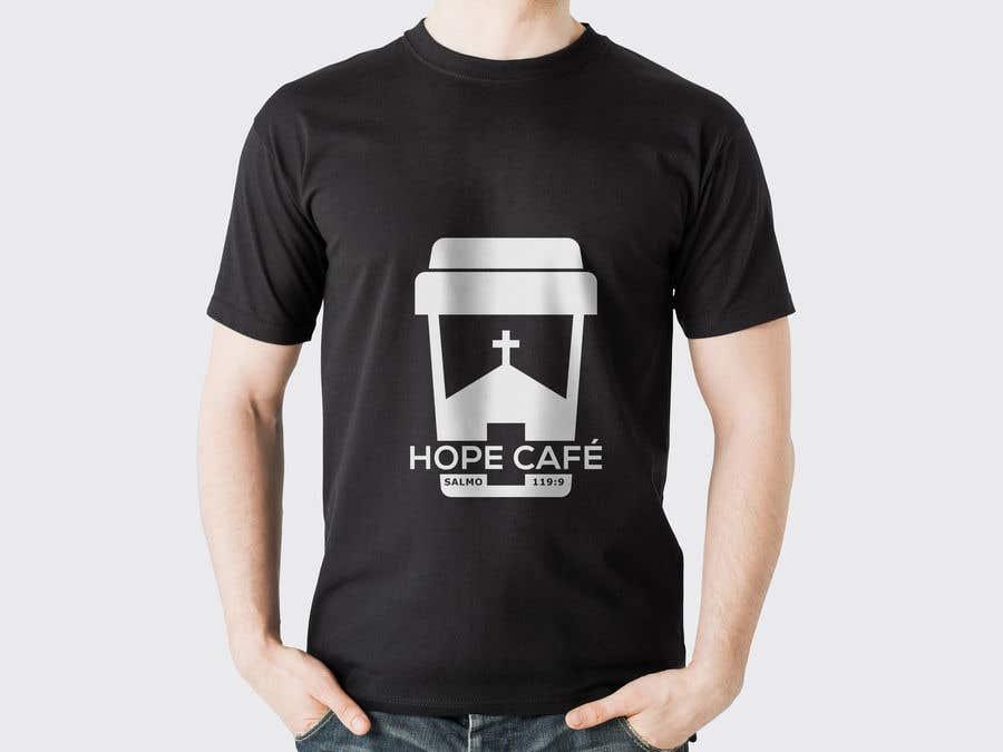 Proposition n°                                        44                                      du concours                                         LOGO / HOPE CAFE